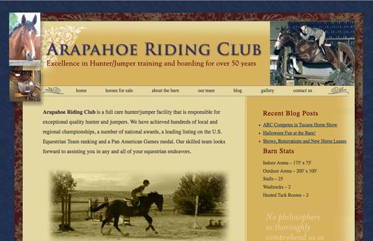 ArapahoeRidingClub.com